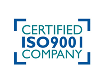 Certified ISO 9001 Company